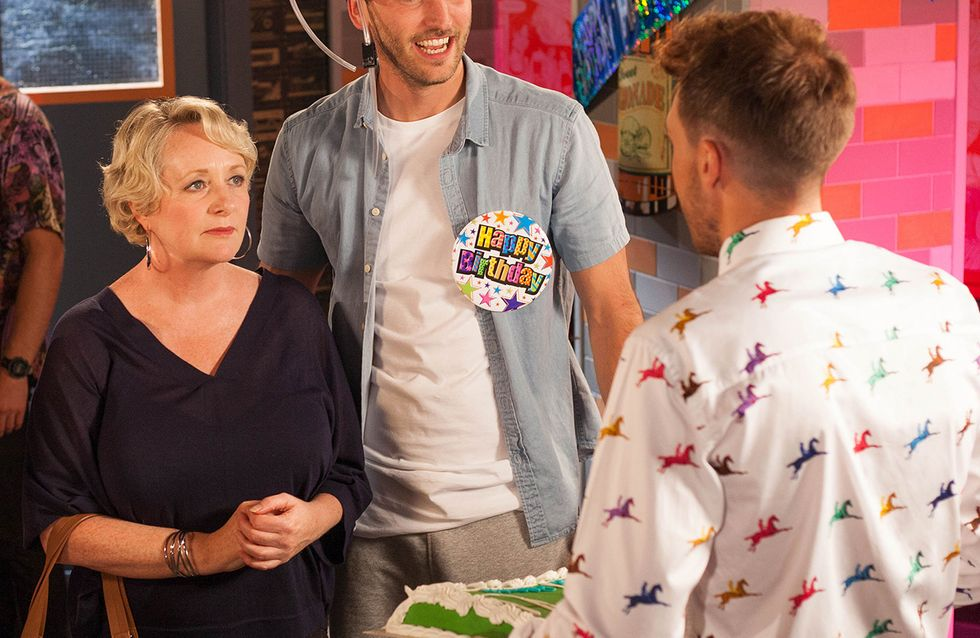 Hollyoaks 21/09 - Jesse Disowns Adam When He Finds Out About Him And Darcy