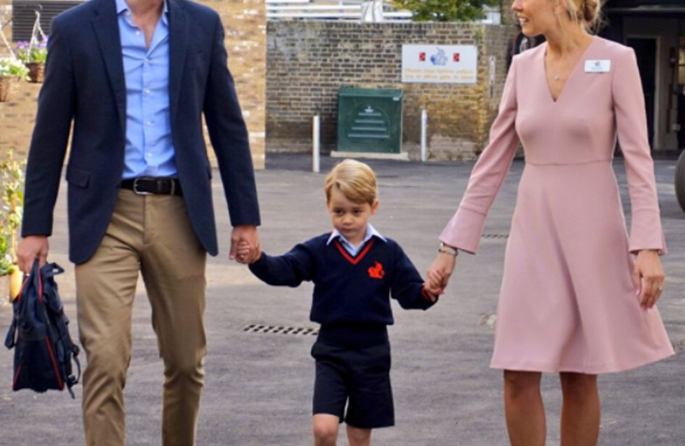 Pregnant Kate Middleton Forced To Miss Prince George's First Day Of School