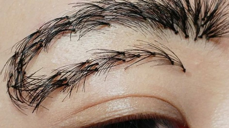 U-Turn Brows Are The Grossest Eyebrow Trend Yet