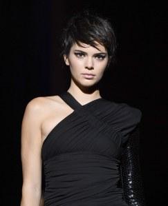 Kendall Jenner au défilé Tom Ford