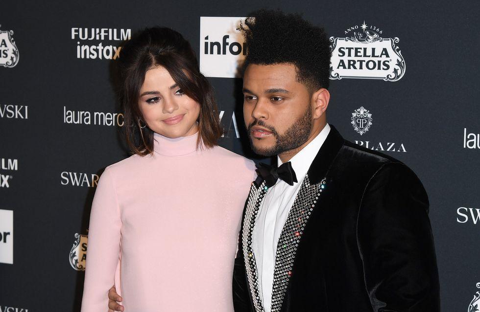 Selena Gomez et The Weeknd, couple ultra chic pour la soirée Harper's Bazaar (Photos)