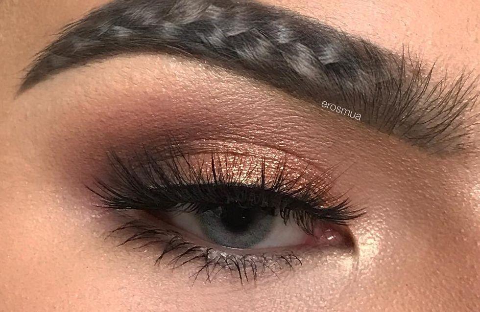 Les braided brows, la tendance insolite des sourcils sur Instagram !