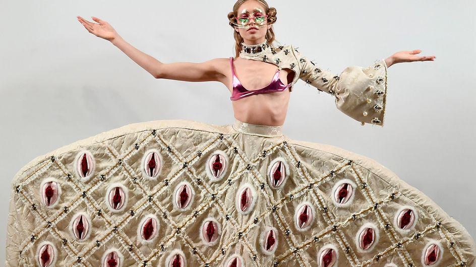 Les vagins s'invitent à la Fashion Week de New-York (photos)