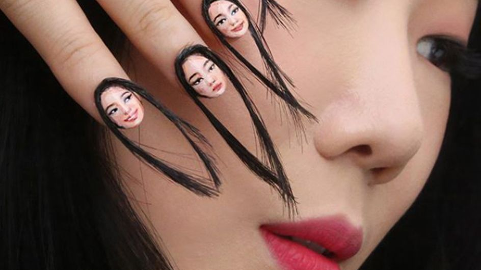 Hairy Selfie Nail Art Is Here To Inspire Your Monday Manicure