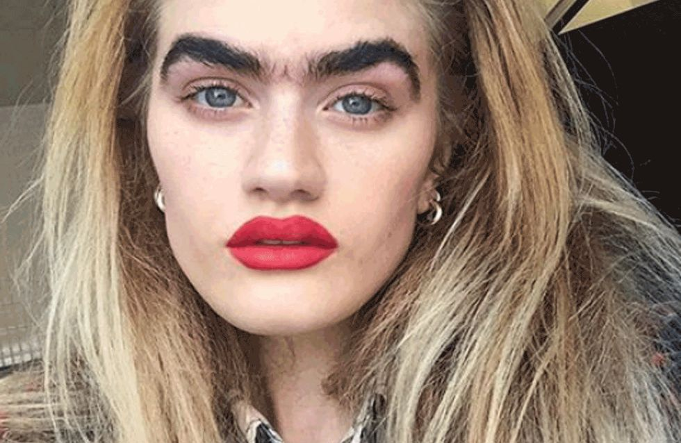 This Model Is Making The Monobrow Cool
