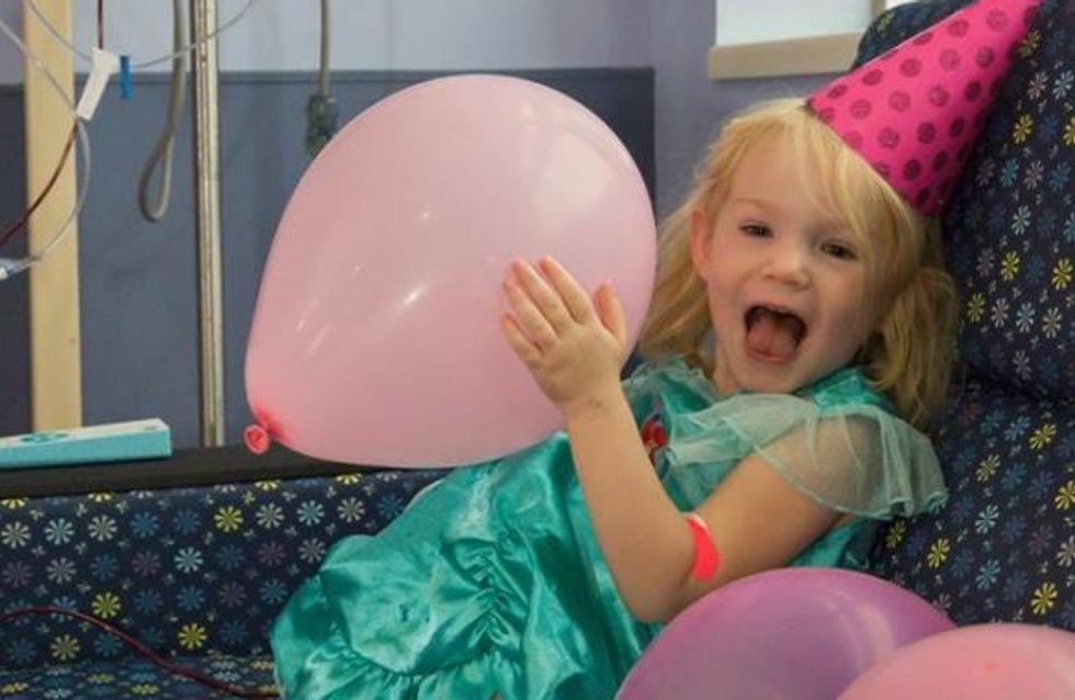 Allein im Krankenhaus an ihrem 3. Geburtstag - bis diese Heldinnen einspringen!