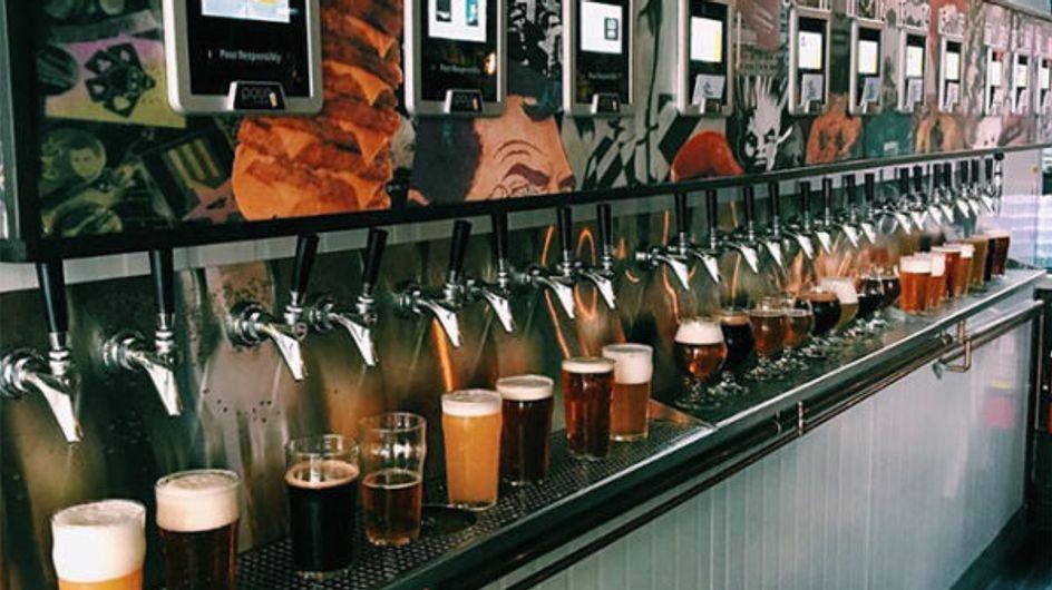 Amantes de la cerveza: este cajero automático os hará muy felices