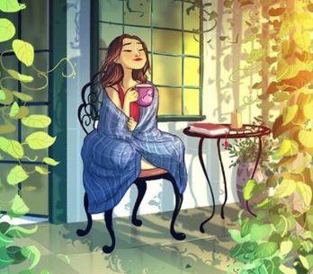 Von Einsamkeit keine Spur: Künstlerin zeigt die schönen Seiten des Alleinseins