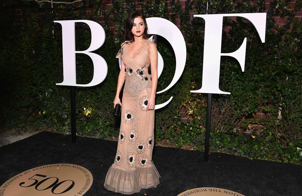 Selena Gómez y su vestido de ensueño, mejor look de la semana