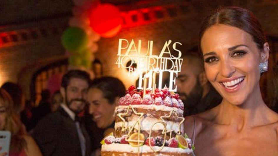 Así fue la gran fiesta de cumpleaños de Paula Echevarría
