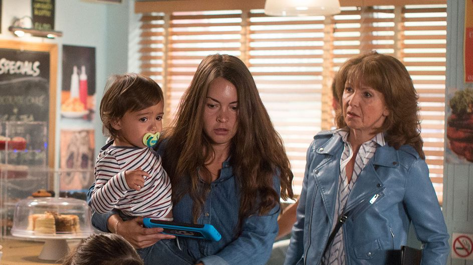 Eastenders 25/09 - With Martin Still In Prison, Whitney & Woody Step In To Help Stacey
