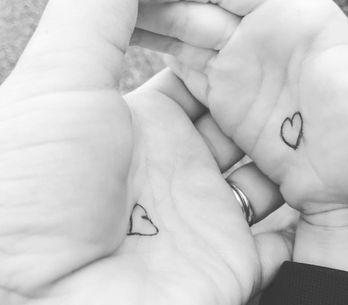 Hug Button: Mit diesem niedlichen Trick hilft diese Mama ihrem ängstlichen Soh