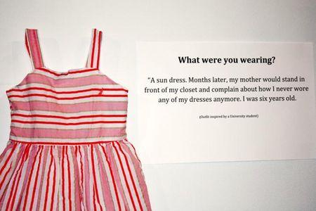 T'étais habillée comment? l'exposition nécessaire sur la culture du viol