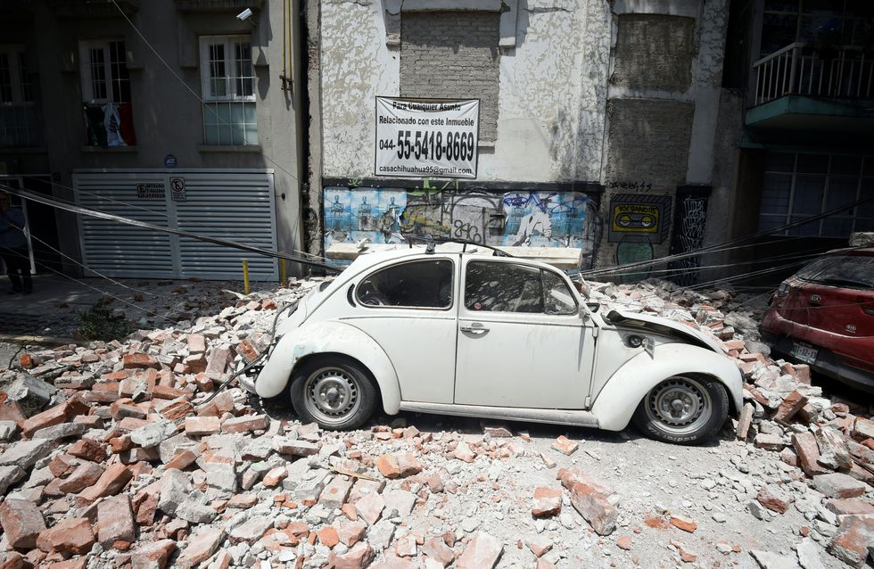 Otro 19 de septiembre negro: México se desgarra con un seísmo de 7,1 grados