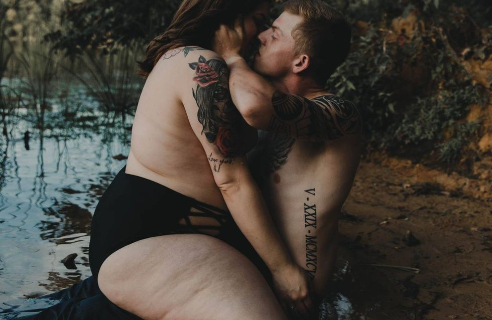 """""""Er liebt mich so, wie ich bin"""" - Heißes Fotoshooting hat eine besondere Botschaft"""