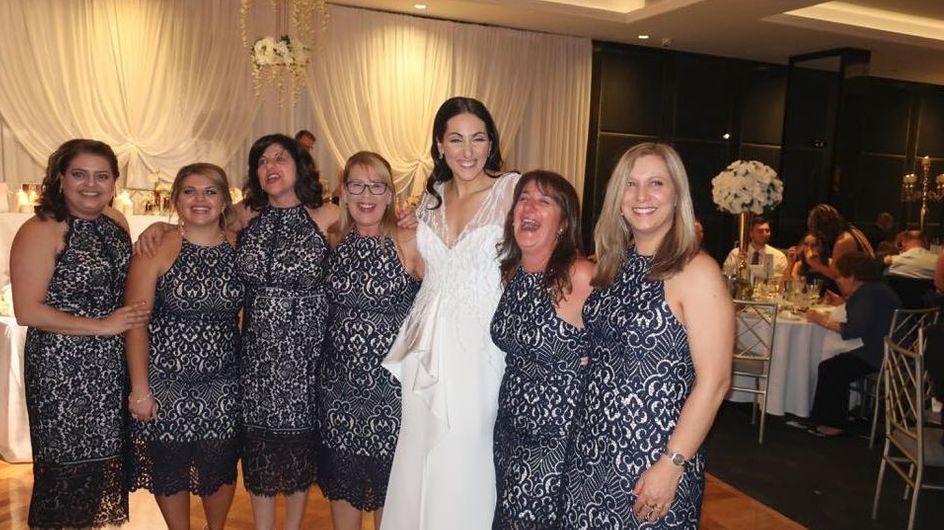 Absoluter Albtraum: Gleich 6 Hochzeitsgäste tragen das gleiche Kleid