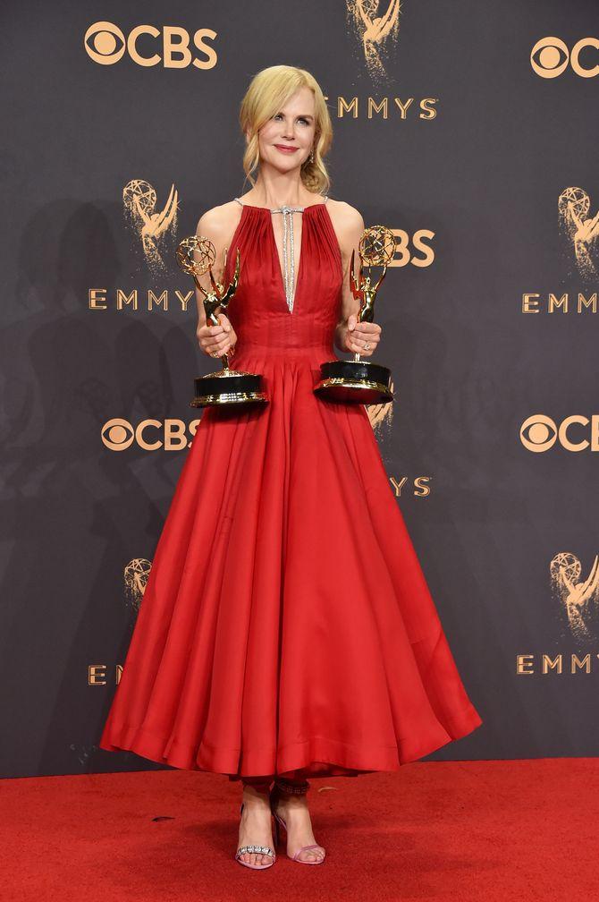 Nicole Kidman en Calvin Klein aux Emmy Awards