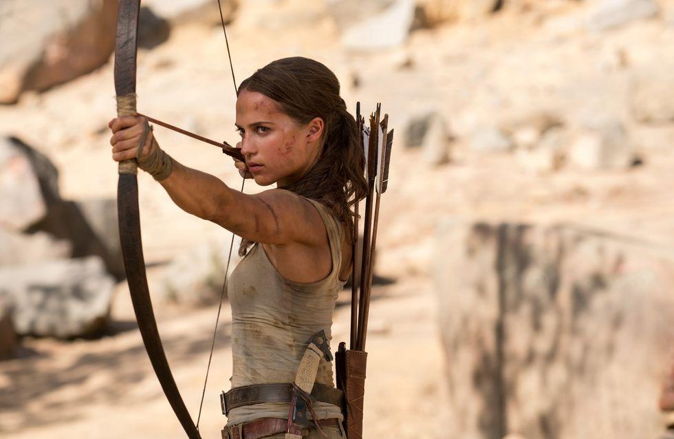 La nouvelle Lara Croft est ultra badass... On adore ! (vidéo)