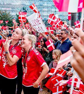 La selección danesa de fútbol cede parte de su sueldo al equipo femenino