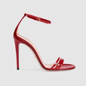 Sandalo Gucci rosso