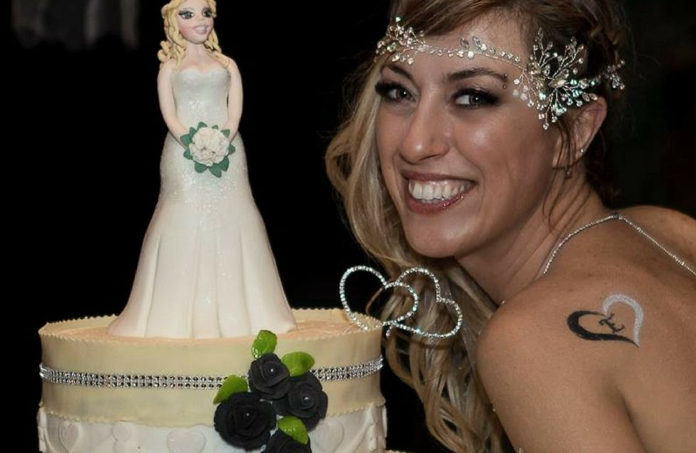 Laura: Sono single e mi sono sposata. Da sola