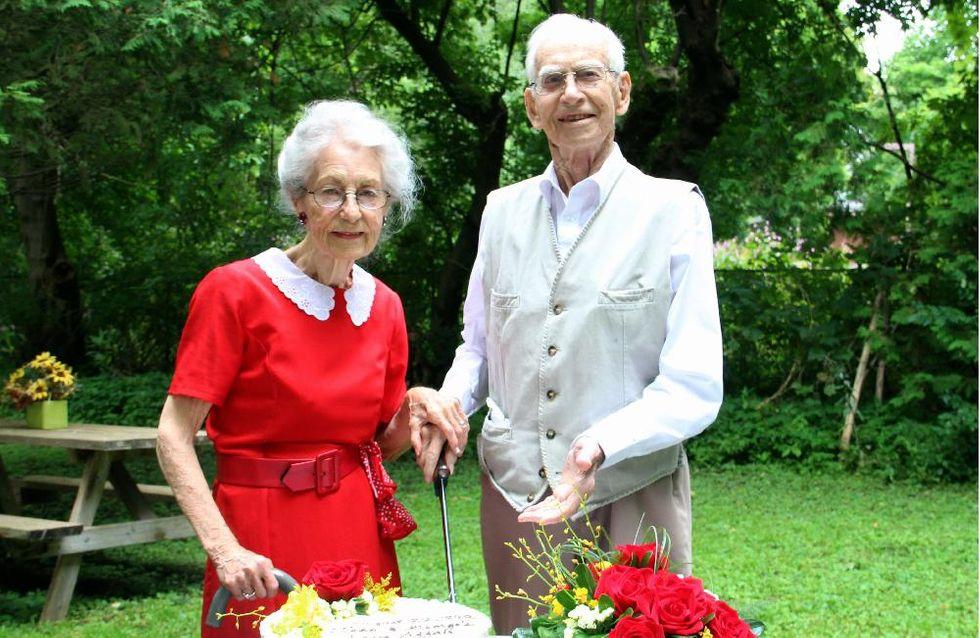 Après 75 ans de mariage, ils meurent tous les deux le même jour à quelques heures d'intervalle