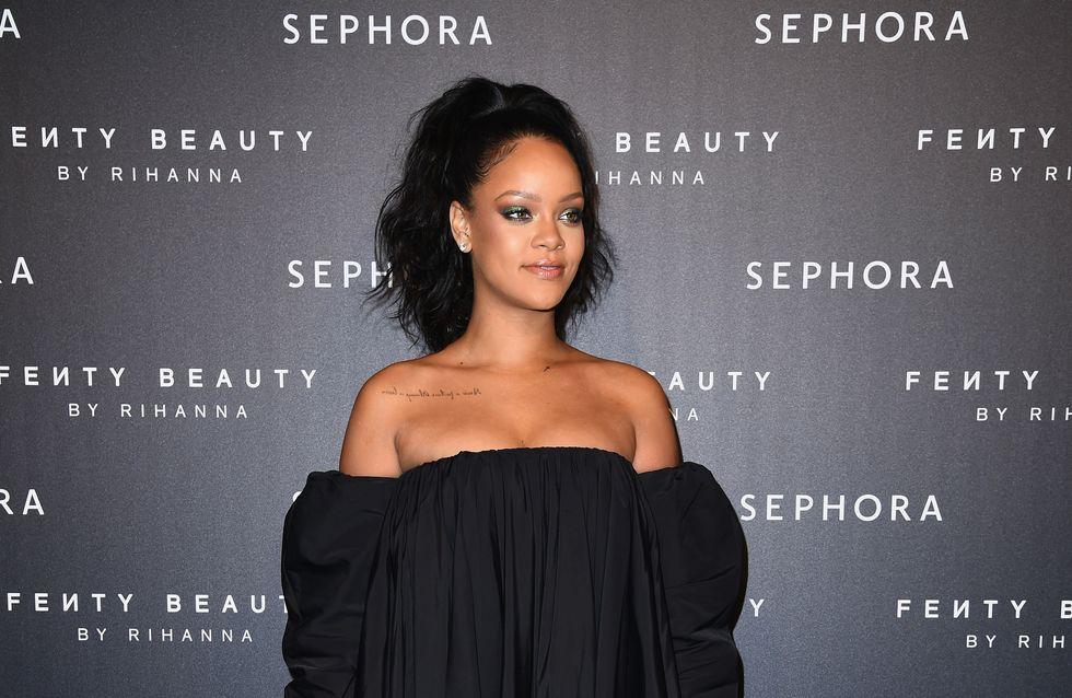 Rihanna bloque un internaute raciste et on salue son geste !