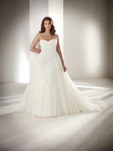 Designer-Brautkleider von Größe 46 bis 64