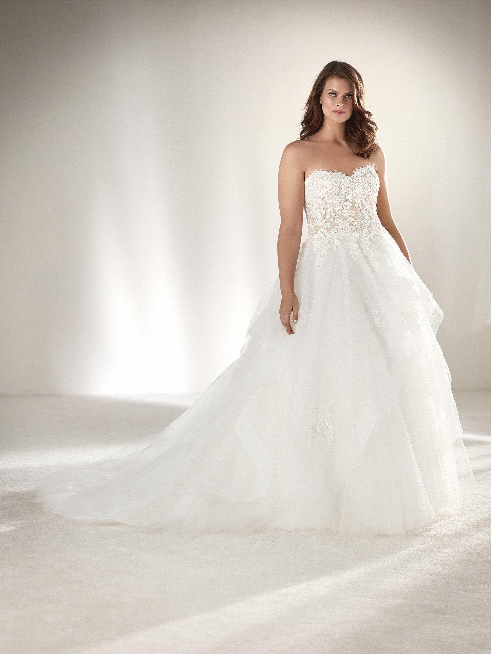 Designer-Brautkleider für Mollige 16: Die schönste Plus-Size-Kleider