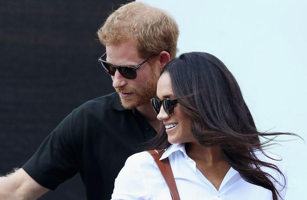 Meghan Markle et le Prince Harry, couple chic et casual pour une première sortie en amoureux (Photos)
