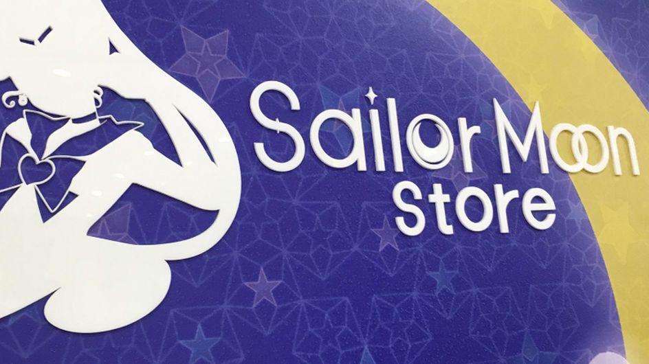 Apre il primo store interamente dedicato a Sailor Moon e noi stiamo sognando!