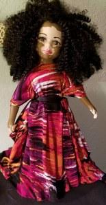 Muñeca con vitíligo