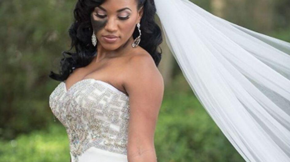 Elle refuse de maquiller son visage le jour de son mariage, découvrez pourquoi !