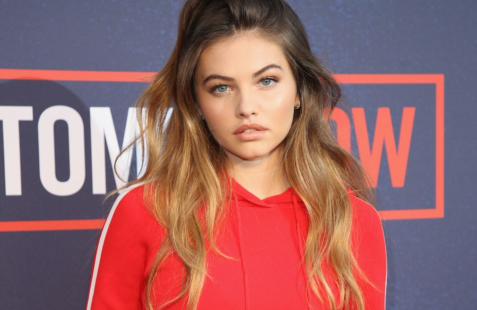 Thylane Blondeau, la plus belle petite fille du monde rayonne à la Fashion Week (Photos)