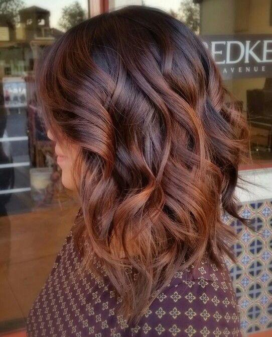 Il fallayage è il colore di capelli perfetto per l autunno! 53b2f31471f2