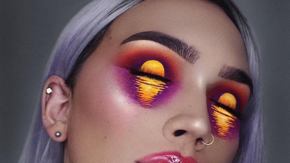 Esta Instagramer hace cosas realmente increíbles con sus paletas de sombras