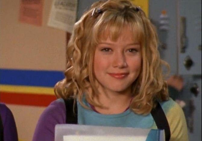 Lizzie McGuire (Hilary Duff) avant