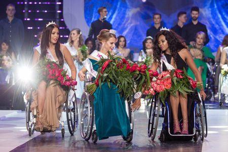 Election de Miss Monde en fauteuil roulant