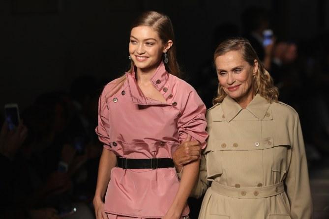 Gigi Hadid et Lauren Hutton