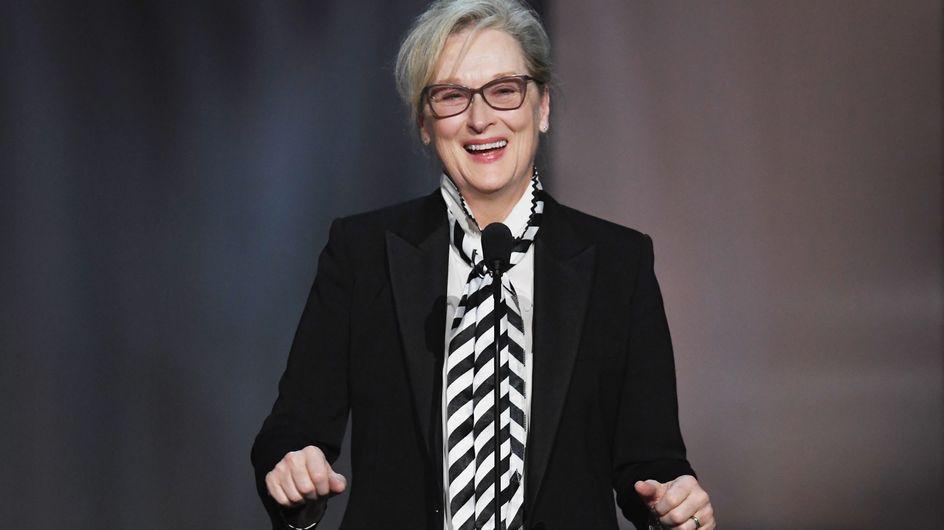 Meryl Streep habla sobre el acoso a las actrices en Hollywood (y solo podemos aplaudir)