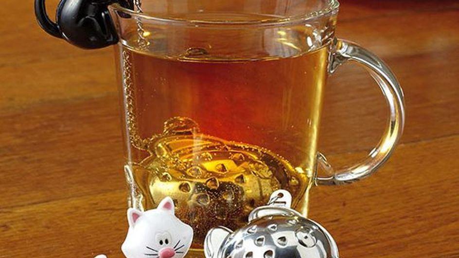 ¡Hora del té!: descubrimos algunos de los infusores más originales