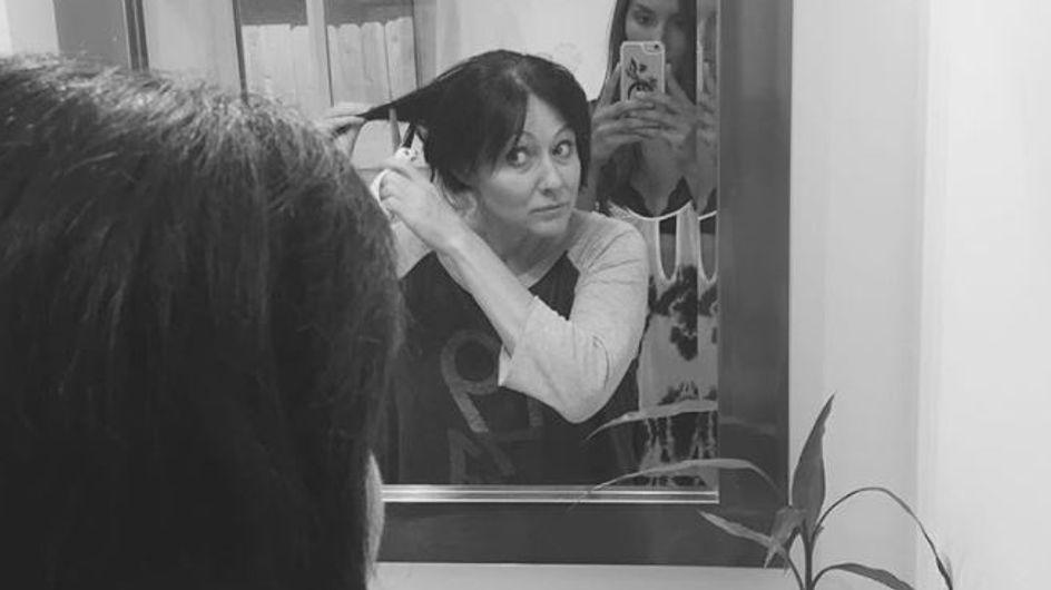 Sie stellt sich dem Krebs: Schauspielerin Shannen Doherty zeigt ihre Stärke in rührenden Bildern