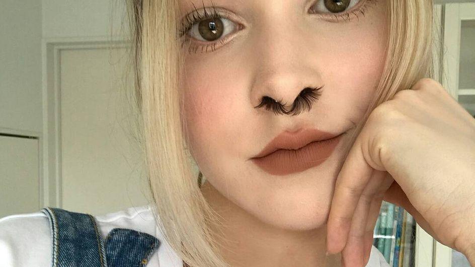 Extensiones de pelo para la nariz, la tendencia viral en la que esperamos no caer