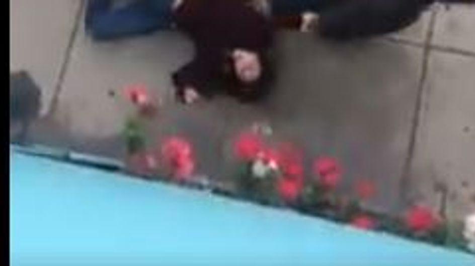 Le Pérou s'indigne face à cette vidéo atroce d'une femme traînée au sol par son mari (vidéo)