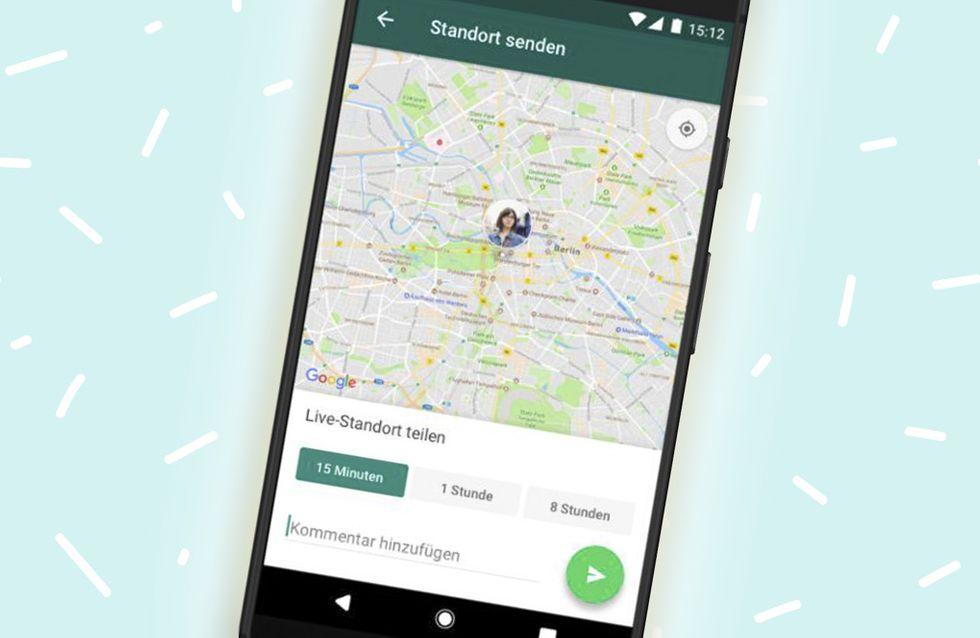 Neue WhatsApp-Funktion: Bald kannst du LIVE sehen, wo deine Freunde sind