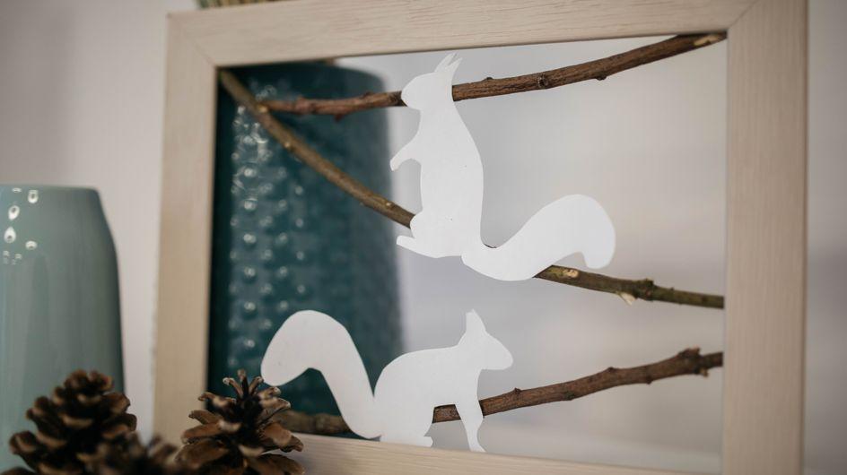 DIY : un tableau écureuils pour la chambre des kids