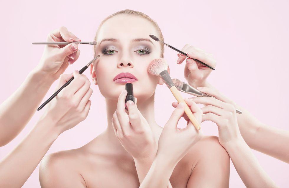 Pinceles y brochas de maquillaje esenciales