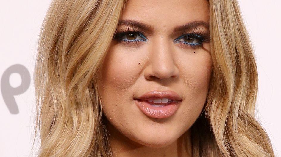 Khloé Kardashian aurait-elle abusé de Photoshop pour cacher sa grossesse ? (photo)