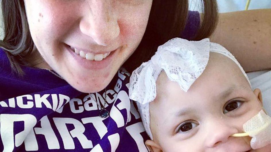Elle rédige une lettre bouleversante aux infirmiers qui soignent sa fille malade