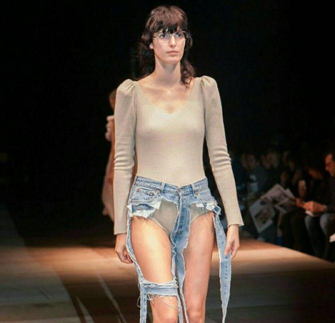 Le jean string